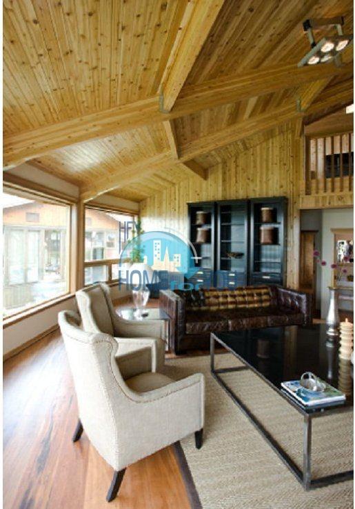 Уникальный дом из канадского красного кедра 11