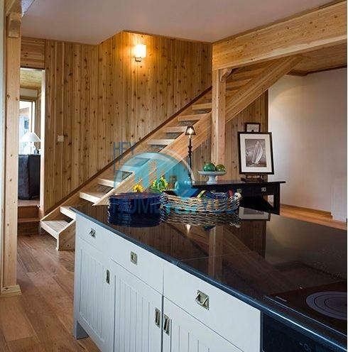 Уникальный дом из канадского красного кедра 10