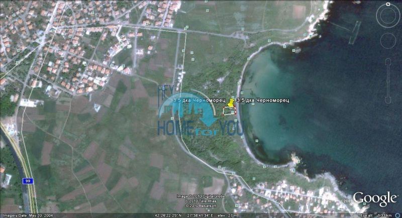 Земельный участок под застройку на первой линии Черноморца