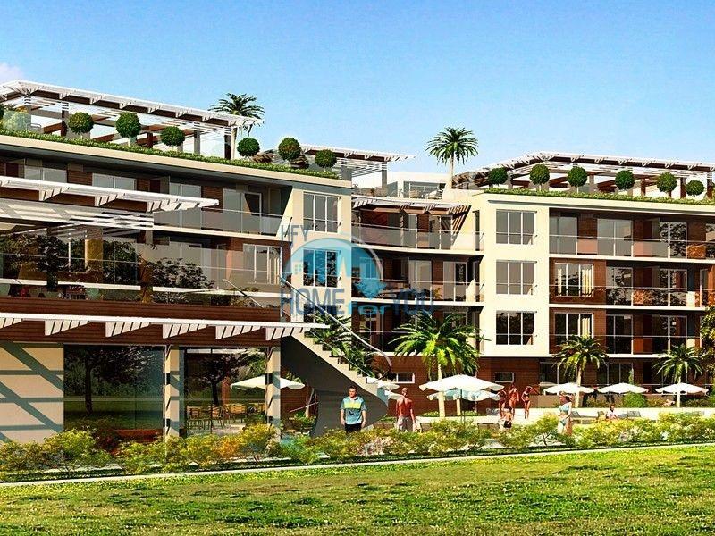 Sky Gardens - квартиры на первой линии моря в Лозенеце 3
