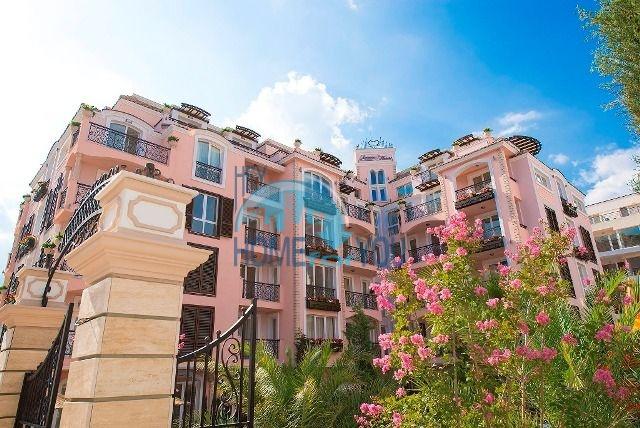 Двухкомнатная квартира в комплексе Романс Марин в Солнечном береге