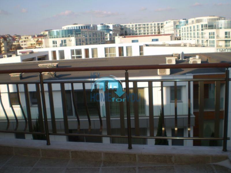 Двухкомнатная квартира на первой линии моря в Сарафово 14