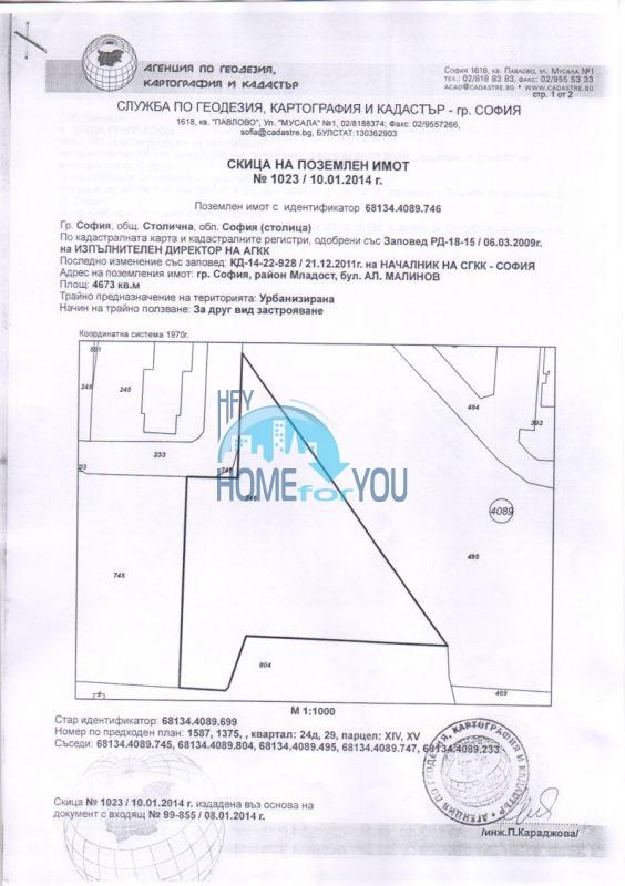 Продажа земельных участков под строительство в Софии 14