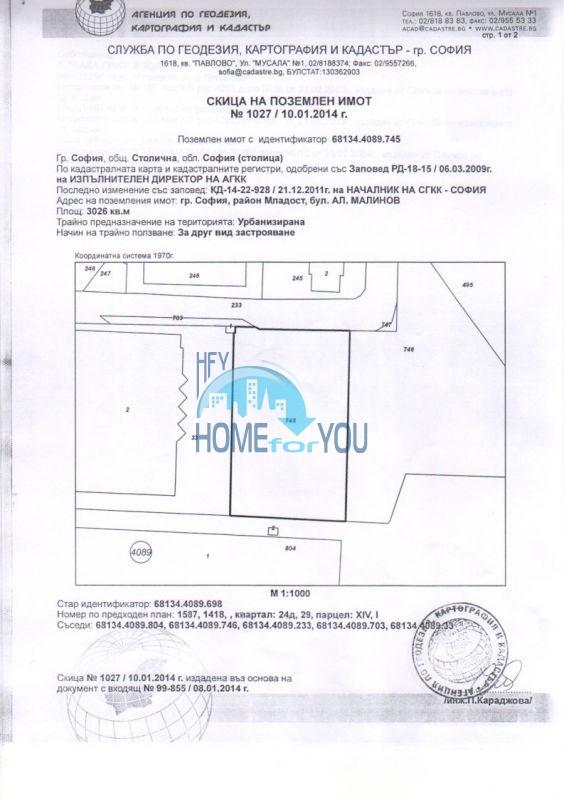 Продажа земельных участков под строительство в Софии 15