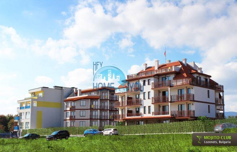Квартиры на море в курорте Лозенец - Mohito Club 3