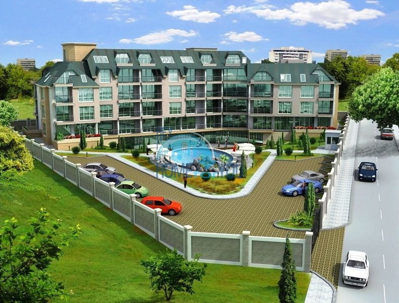Комплекс Дана - панорамные квартиры в районе Ален Мак, Варна