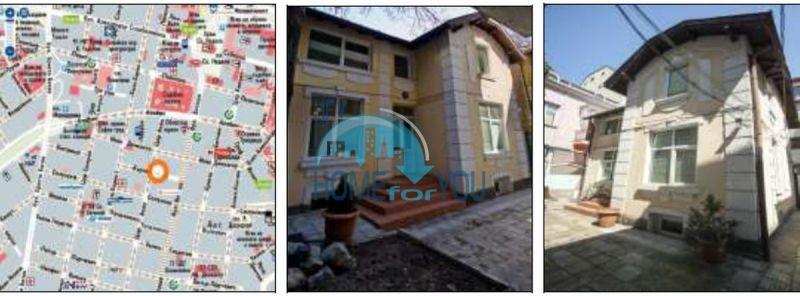 Продажа самостоятельного трехэтажного здания в центре Софии