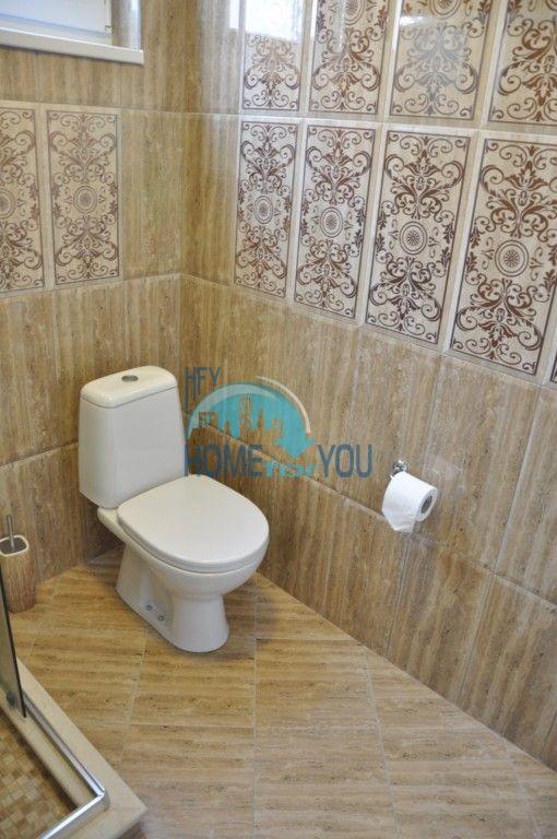 Новый одноэтажный дом с мебелью в городе Царево 13