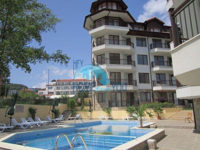 Односпальная квартира с видом на море в городе Бяла