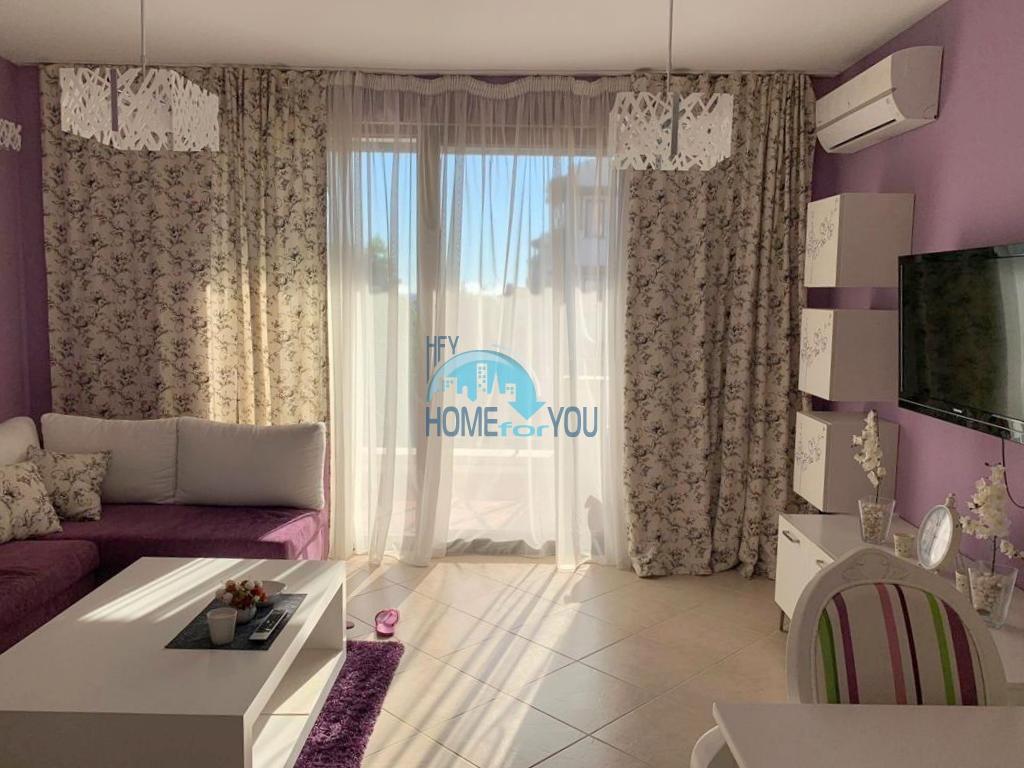 Двухкомнатная квартира 74,63 кв.м класса люкс с видом на море в комплексе