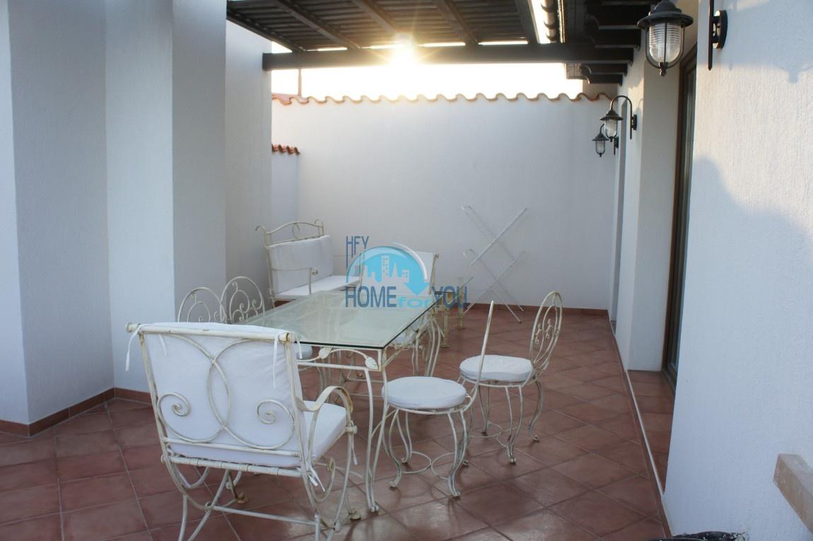 Трехкомнатная квартира 150 кв.м с видом на море в шикарном комплексе