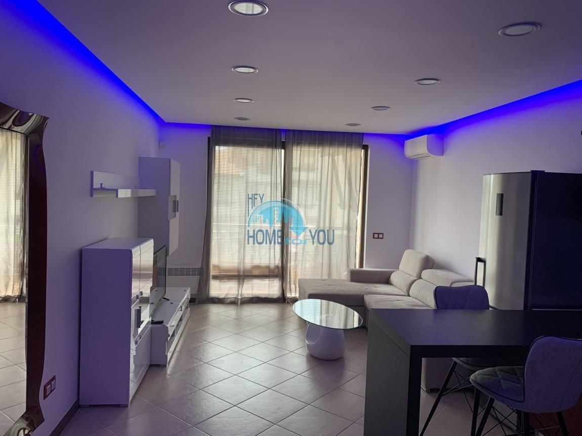 Меблированная квартира в комплексе Оазис, Лозенец