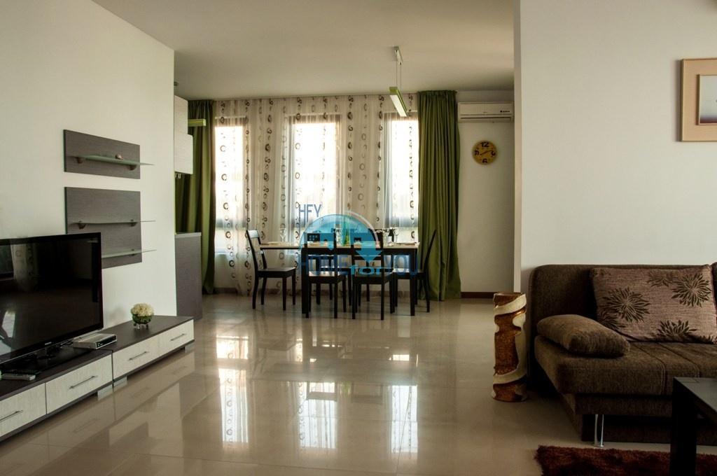 Святой Влас, комплекс ,,Каса Реал''. Первая линия! Огромная двухкомнатная квартира - 126 кв.м.