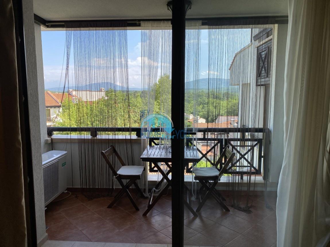 Уютен двустаен 66,63 кв.м с южна прекрасна гледка към Странджа в луксозния