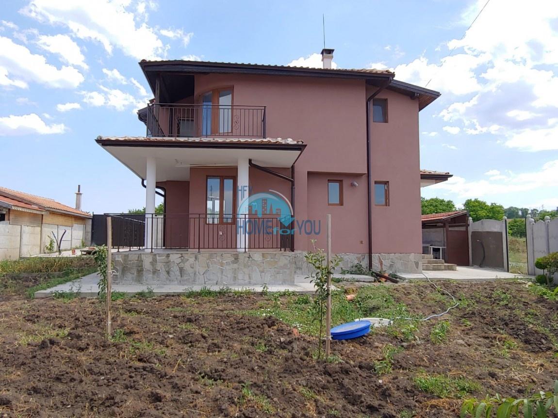Бургас, поселок Дюлево. Новый, отличный двухэтажный дом