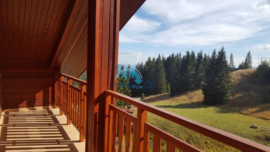 Пампорово, трехкомнатная квартира 88 кв.м. на склоне горы в комплексе