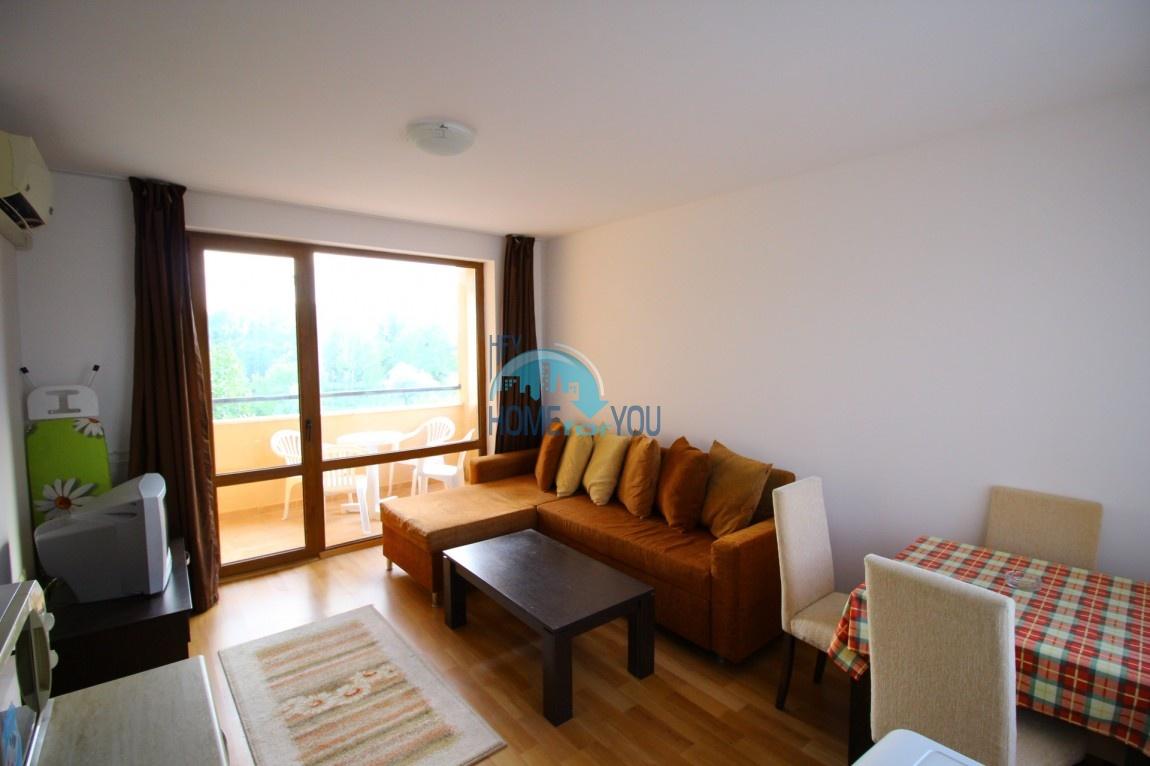 Солнечный Берег, двухкомнатная квартира 60 кв.м по выгодной цене в комплексе