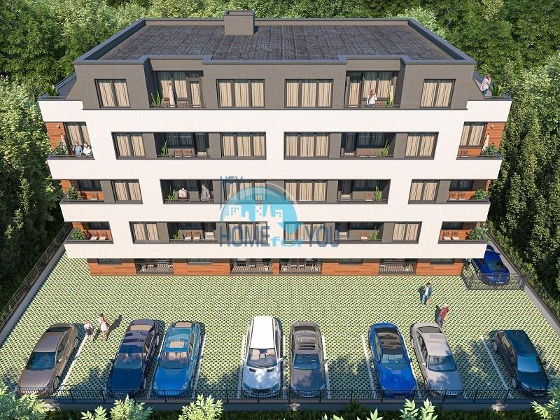 Бургас, без таксы поддержки. Новые квартиры в современном жилом здании в квартале