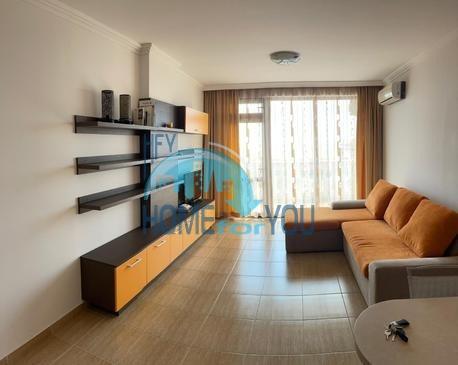 Святой Влас, комплекс ,,Каприз''. Панорамный вид на море! Отличная двухкомнатная квартира.