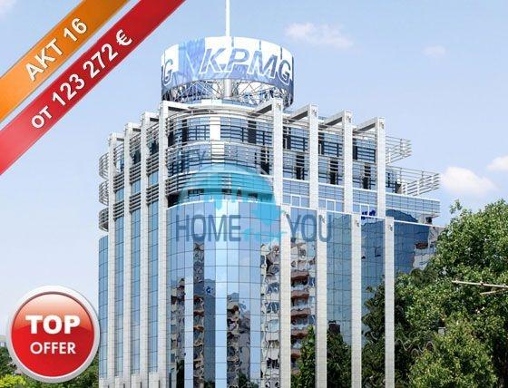 Офисы и магазины в бизнес-центр Bulgaria Tower в Софии