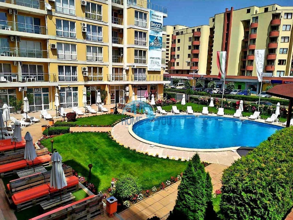 Апартаменти от инвеститор в центъра на Слънчев бряг- Flores Park