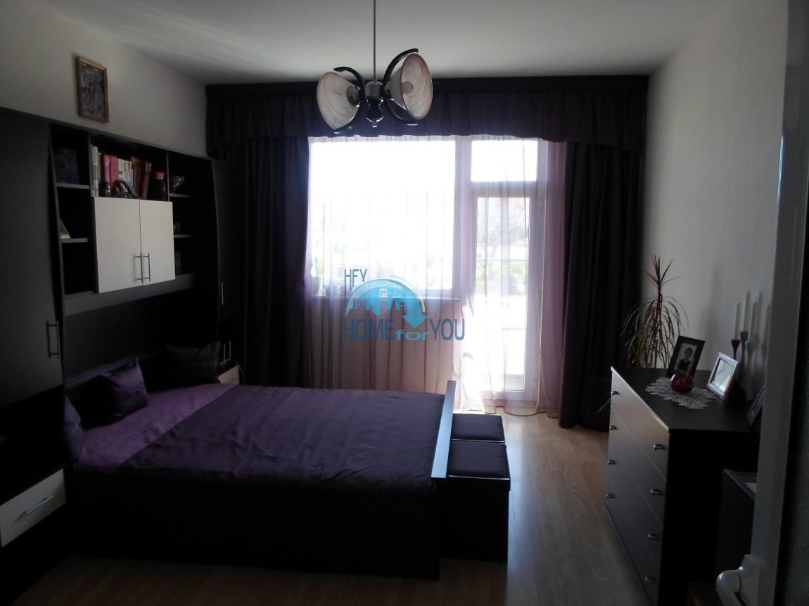 Отличная, меблированная трехкомнатная квартира в городе Балчик