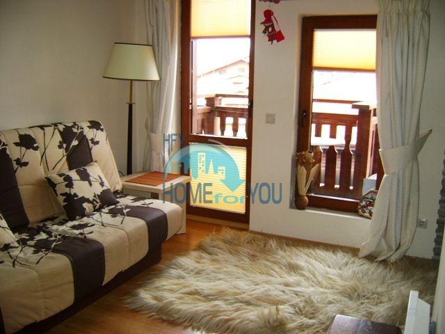Двухкомнатная квартира в горах курорта Банско