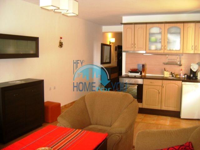 Меблированная двухкомнатная квартира по недорогой цене в курорте Банско