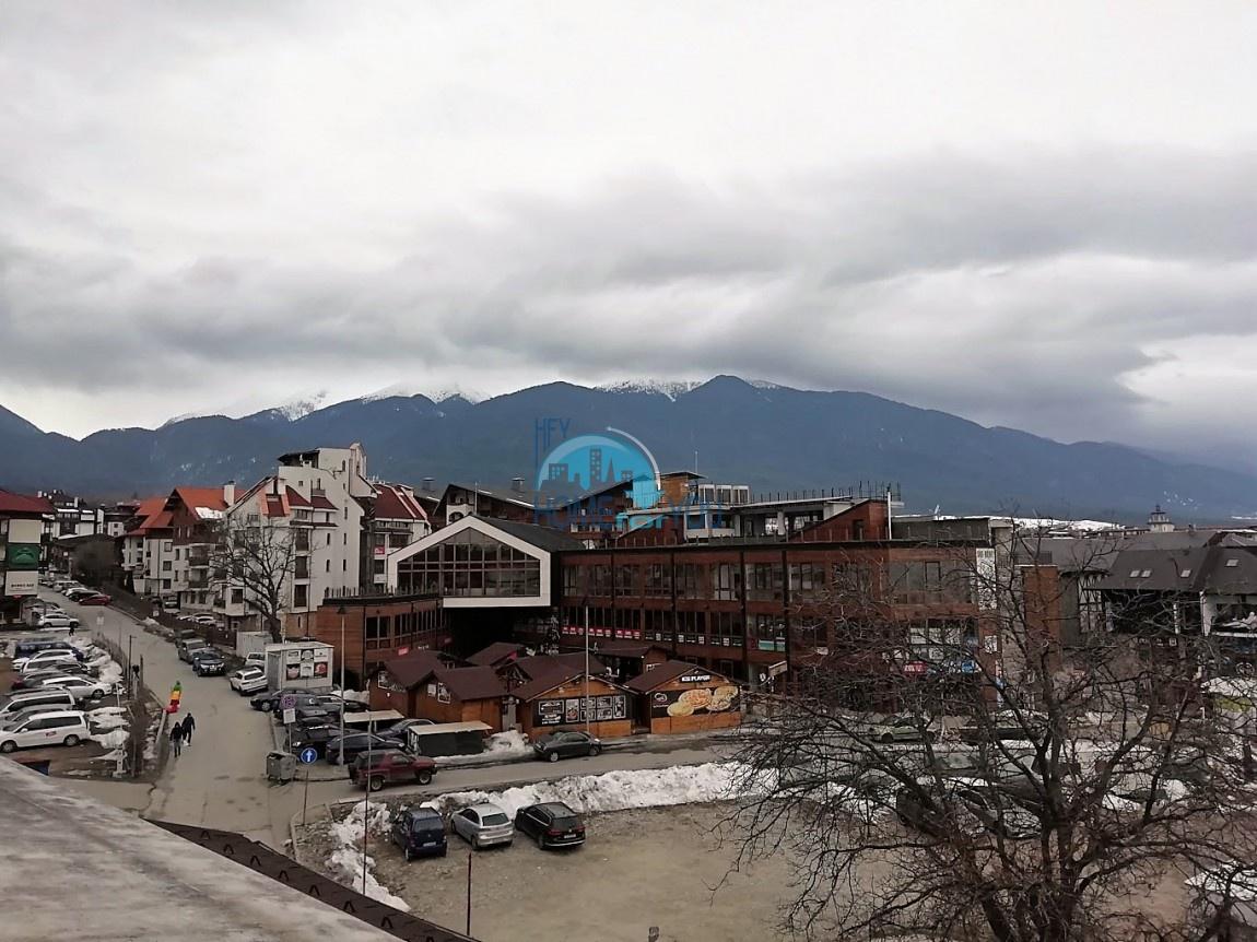 Отличная двухкомнатная квартира с видом на горы в Банско
