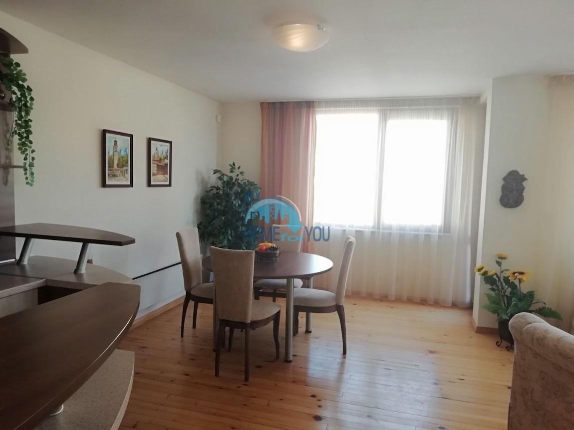 Отличная, новая трехкомнатная квартира в центре зимнего курорта Банско