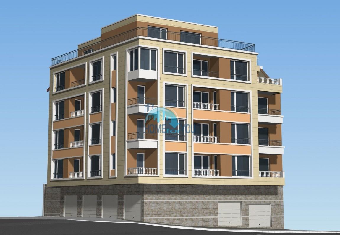 Новый жилой комплекс без таксы поддержки на первой линии моря в современном квартале Сарафово, город Бургас