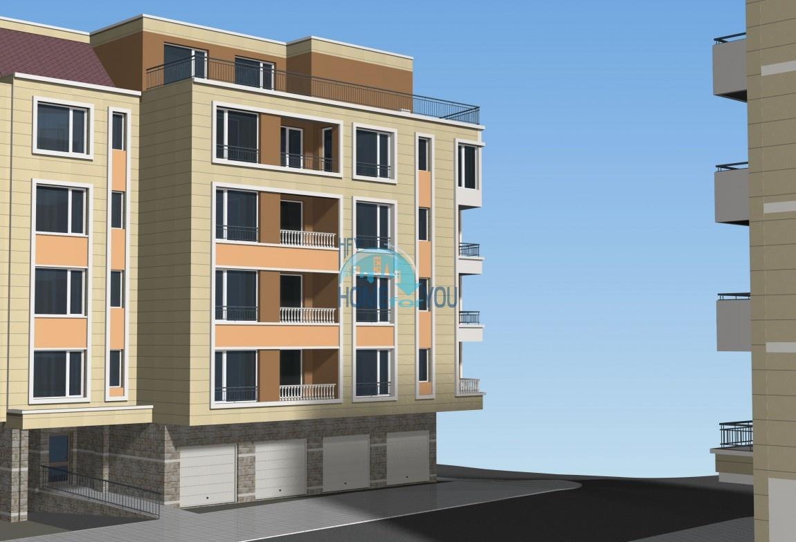 Новый жилой комплекс на первой линии моря в современном квартале Сарафово, город Бургас
