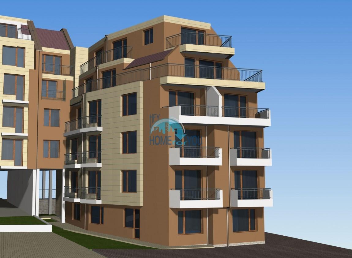 Новый жилой комплекс без таксы поддержки на первой линии моря в современном квартале Сарафово, город Бургас     6