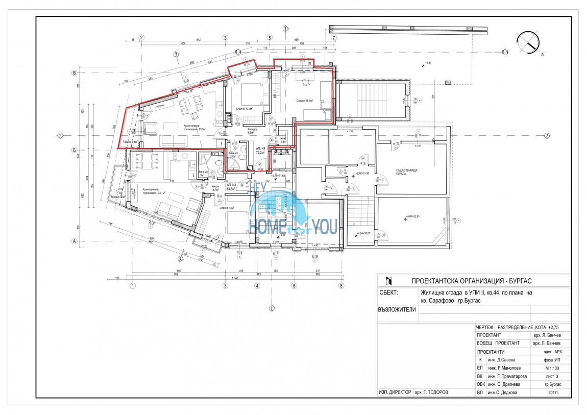 Новый жилой комплекс без таксы поддержки на первой линии моря в современном квартале Сарафово, город Бургас     11