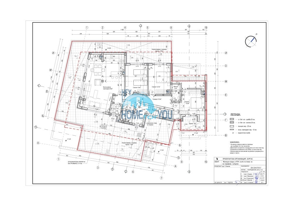 Новый жилой комплекс без таксы поддержки на первой линии моря в современном квартале Сарафово, город Бургас     15