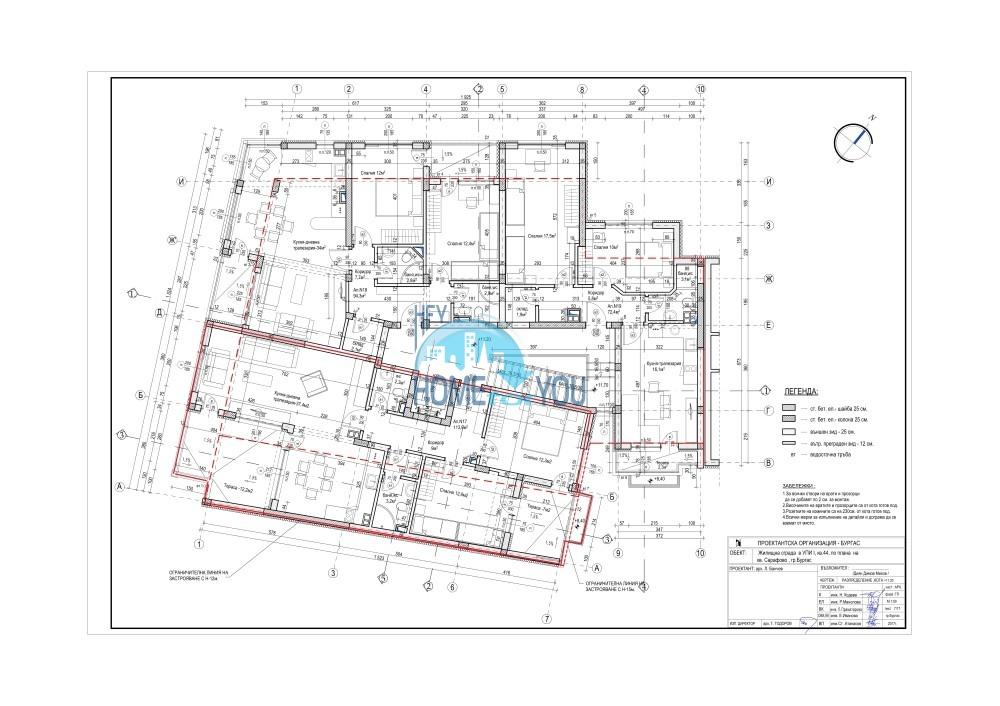Новый жилой комплекс без таксы поддержки на первой линии моря в современном квартале Сарафово, город Бургас     16
