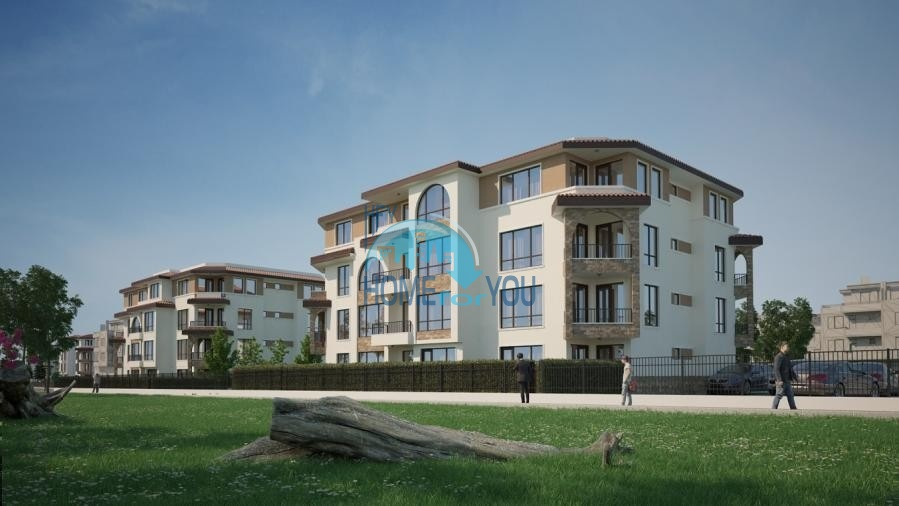 BAYVIEW apartments - новый жилой комплекс с великолепным видом на море в городе Бургас, квартал Сарафово 6