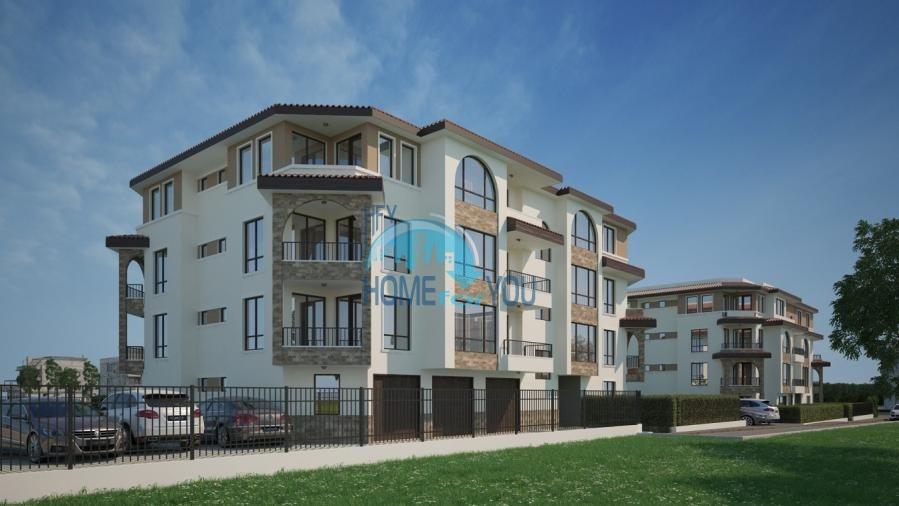 BAYVIEW apartments - новый жилой комплекс с великолепным видом на море в городе Бургас, квартал Сарафово 2