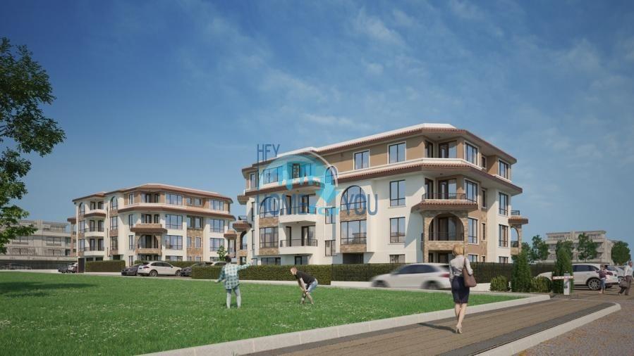BAYVIEW apartments - новый жилой комплекс с великолепным видом на море в городе Бургас, квартал Сарафово 7