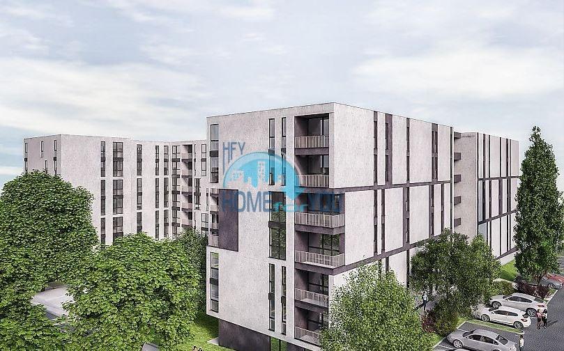 Четырехкомнатная квартира в новом жилом доме без таксы поддержки - Сарафово