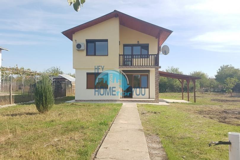 Новый двухэтажный готовый дом в Трыстиково - для ПМЖ