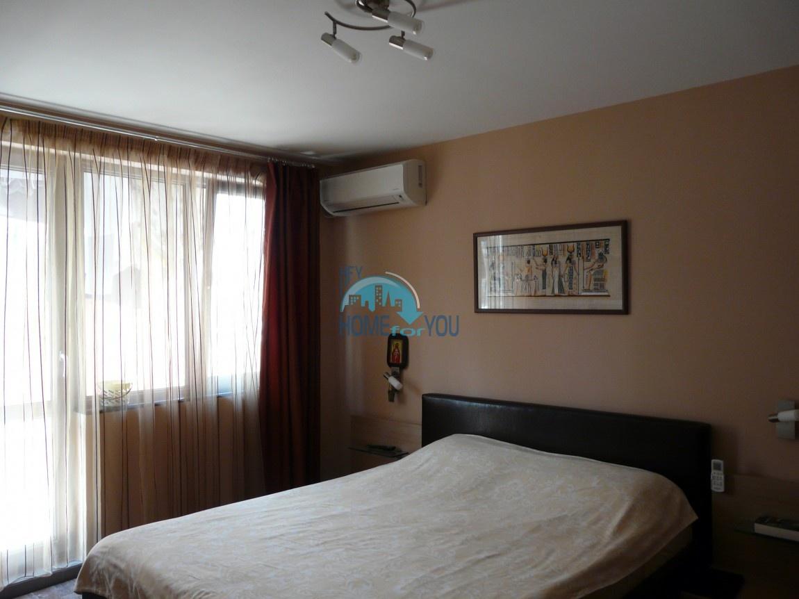 Люксозная, большая квартира с восхитительном виде на море в Бургасе 5