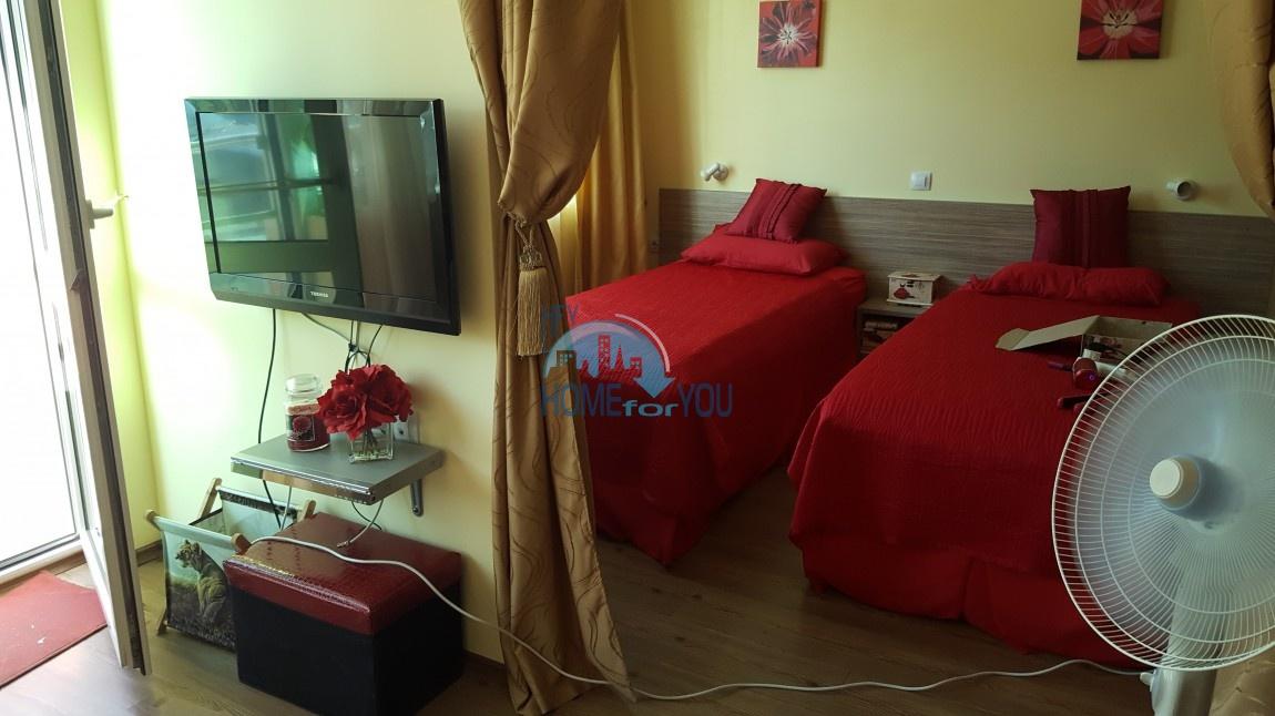 Меблированная двухкомнатная квартира в Сарафово, Бургас 4