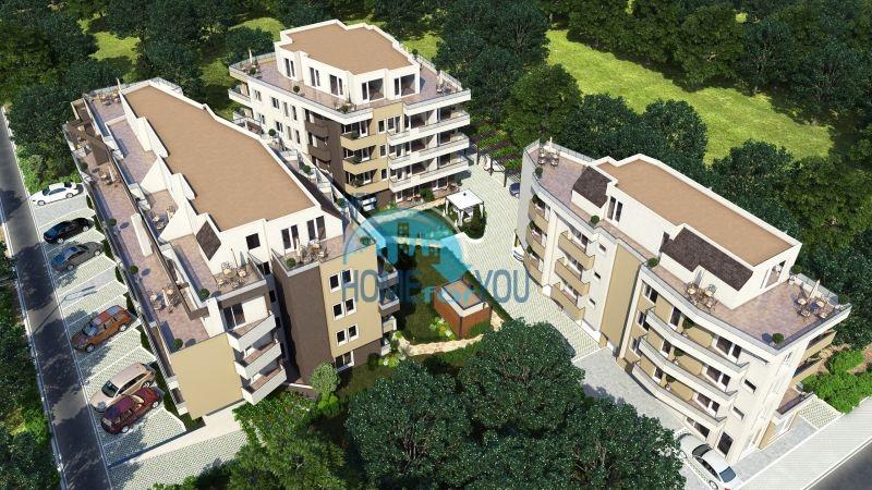 Новое жилое здание Оазис Парк в Бургасе, квартал Сарафово - идеальный выбор Вашего будущего дома