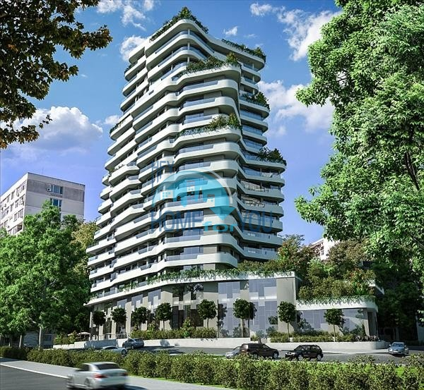 Оригинальный жилой комплекс феноменального дизайна класса люкс в Бургасе, квартал у моря Лазур