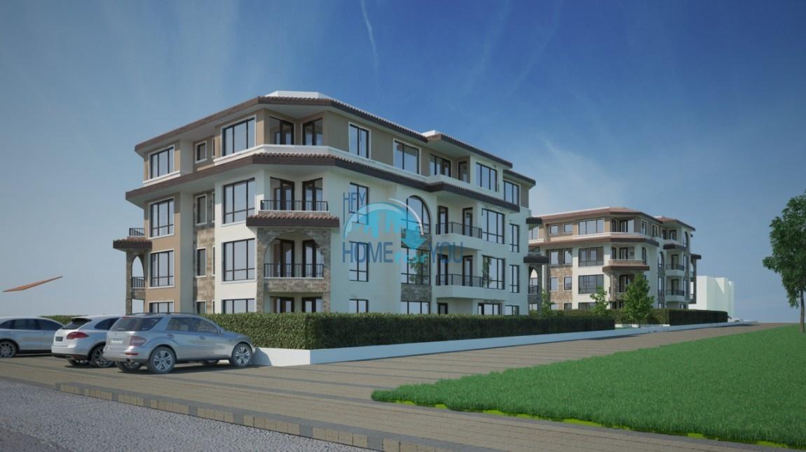 BAYVIEW apartments - новый жилой комплекс с великолепным видом на море в городе Бургас, квартал Сарафово 3