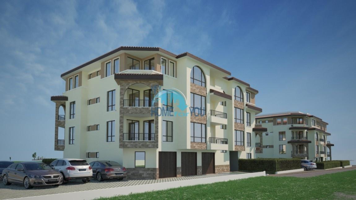 BAYVIEW apartments - новый жилой комплекс с великолепным видом на море в городе Бургас, квартал Сарафово 4
