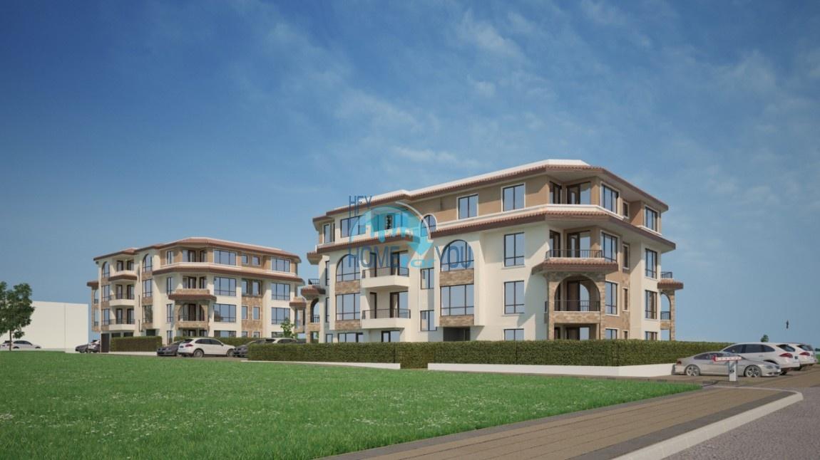 BAYVIEW apartments - новый жилой комплекс с великолепным видом на море в городе Бургас, квартал Сарафово