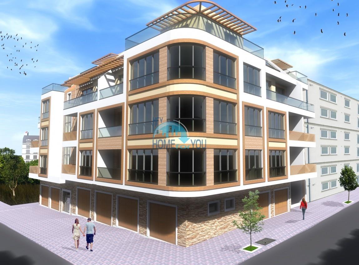 Современный жилой комплекс в новом престижном квартале Сарафово, город Бургас