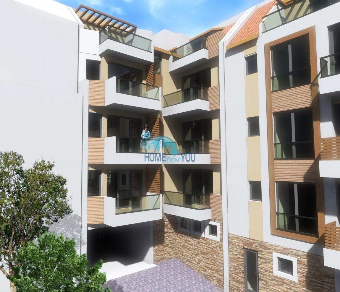 Современный жилой комплекс в новом престижном квартале Сарафово, город Бургас 2